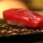 Sushi Aoyagi in the Tokyo Station Hotel and even food are high-quality sushi