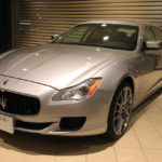The NEW Quattroporte Maserati Hamamatsu home maintenance!