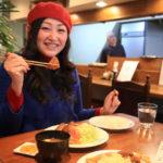 Tonkatsu restaurant evokes Western h. pine Demi-Glace sauce