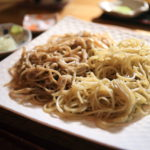 "I wish in the ""buckwheat noodle house oomori"" toshikoshi-Soba lasting relationship and longevity"