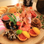 御屠蘇 wind to resemble the simple traditional osechi home with friends, cheers!