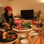 New year's Sukiyaki at home! According to the beef's new politics sake sake No.6!
