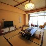 "Visit the different ""Kada awashima Onsen osakaya hiina no Yu"" all rooms have ocean view rooms"