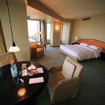 大阪凱悅麗晶酒店高的樓,可俯瞰全景的海灣地區