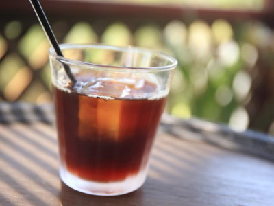 """Summer only """"blister and Japanese restaurant""""! Iced coffee roasting shop stand out crisp and aromatic richness"""