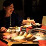 與私人放鬆夏天耐力在赤阪見附燒烤大門門牛肉 !