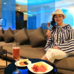 At the suvarnabhumi International Airport Oman Air lounge elegance and comfort