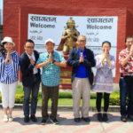 タイのスワンナプーム国際空港よりネパールのトリブヴァン国際空港へ到着