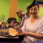"Terrace dinner at Lumbini ""Tashi Delek Restaurant."