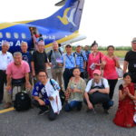 「ゴータマ・ブッダ空港」からブッダ航空にて「トリブヴァン国際空港」へ
