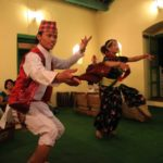 """Bojan Griha"" Nepal folk music and folk dance is a popular dinner show!"