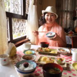 "Breakfast at Patan guesthouse ""pension assert"" 7 days"