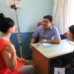 """第一次體驗國外 ! 檢查的兩個腳踝上型私人醫院""""艾爾卡醫院。"""