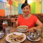 "Lunch at Tibetan cuisine located in the Thamel district of Kathmandu Valley ""gyrince"""