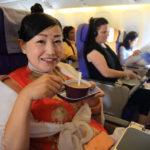 ネパールのトリブヴァン国際空港よりタイのスワンナプーム国際空港へ