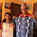 Invited to presidential diplomatic Advisor Madan Kumar Bhattarai house party