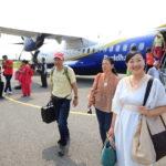 從機場的喬達摩佛在藍毗尼佛陀出生在離開 !