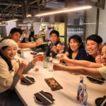 """Kak Koy"" Barcelona at the grill! Japan food and stylish, so cool!"