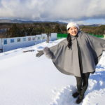 Tokai-Hokuriku Expressway to run the home while enjoying the snow in Toyama