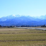 Facing the Japan Sea with rich fishing and heroic Tateyama Mountain range is beautiful Toyama