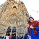 19Century genius architect Antoni Gaudi's masterpiece Sagrada Familia