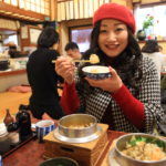 "Araiyakushi to relax at the long-established Foundation 50th anniversary ""Kama-meshi Mutsumi"" Kama-meshi store"