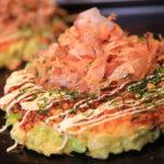 """Surface crispy while Marc BIBEAU""""Heavenly fluffy moist! Shizuoka No.1 Okonomiyaki!"""