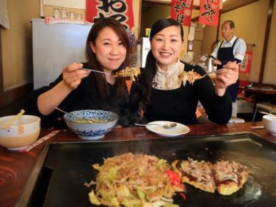 """Hare 3"" local B-class gourmet! Bonito and kombu dashi Okonomiyaki with plenty of Yam"