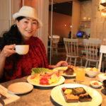 "Breakfast with ""Gloria Prince Taipei, their vegetable garden organic vegetables"