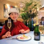 """Mandarin Oriental Taipei, Club lounge with elegant Champagne"