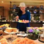 """Mandarin Oriental Taipei, private club floor lounge morning Champ"