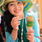 """A slightly ' of the world! Agriculture, forestry and Fisheries Minister award winning premium green tea gelato!"