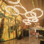 "Located in Huangpu River banks of the yellow 'Mandarin Oriental Shanghai""five-star luxury hotels"