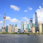 """The historical Western country style on the """"Shanghai Bund"""" Yellow River West Bank town"""