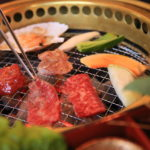 """Barbecue Uesugi"" meat, the great lunch at Yamagata rice Sawa-no-cattle wholesale shop attendants!"