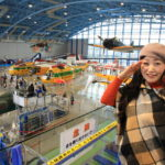 By Airpark aviation jasdf Hamamatsu PR Kan Japan-only theme park excitement!