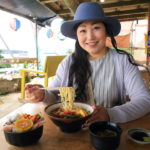Drive and dine Ministry statement Chan Kouri island's beaches while Okinawa lunch