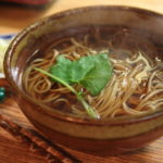 """Soba House oomori"" three had close new year's Eve with this delicious Soba and Tempura"