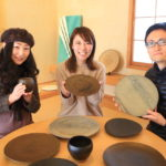 Many visitors! Potters of Toyama my home salon will be held 釋 Yong Yue ceramic art exhibition