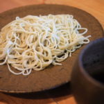 """Feel the breath of the mountain """"Soba House counterweights"""" coldest winter vegetables Tempura and Soba"""